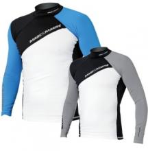 Magic Marine Energy Rash Vest Long Sleeve Blue